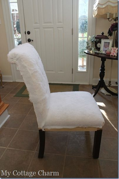 How To Upholster A Dining Room Chair Gorgeous Pinmánon On Reupholstery  Pinterest  Hey Ya And Diamond Decorating Design