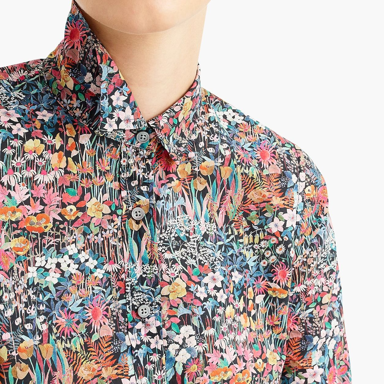a4a89f88567840 Slim Perfect Shirt In Liberty Floral