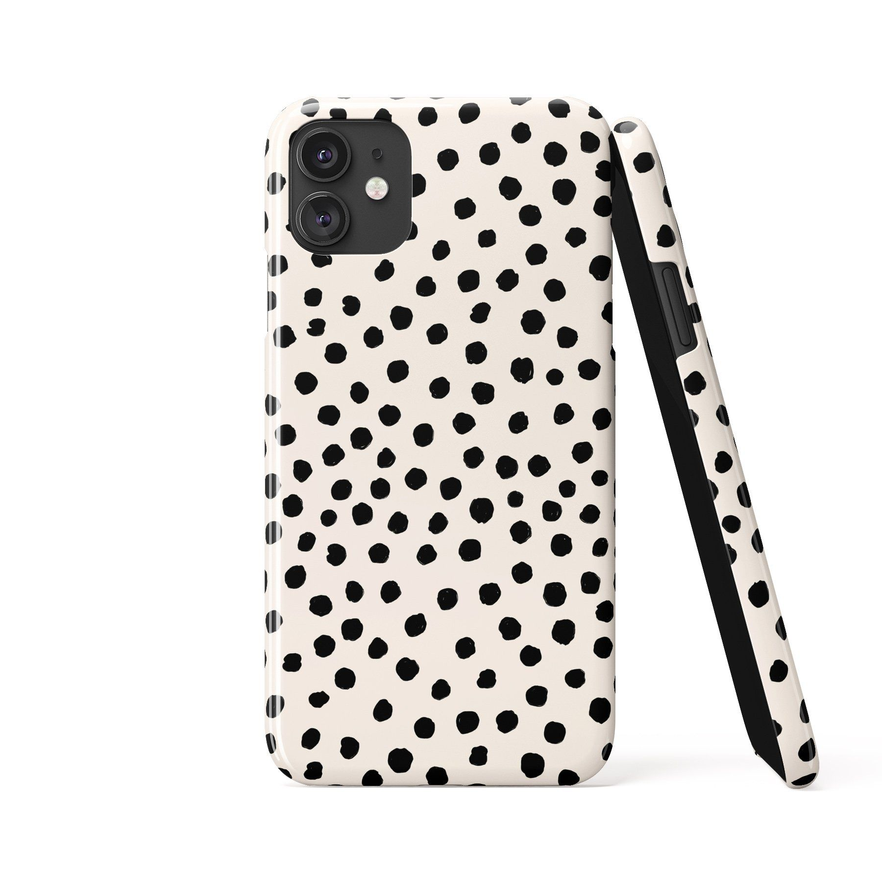 PAINTED DOTS White Phone Case - iPhone XS / Tough Case - Gloss