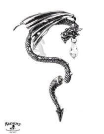 Boucle d'oreille gothique pour homme