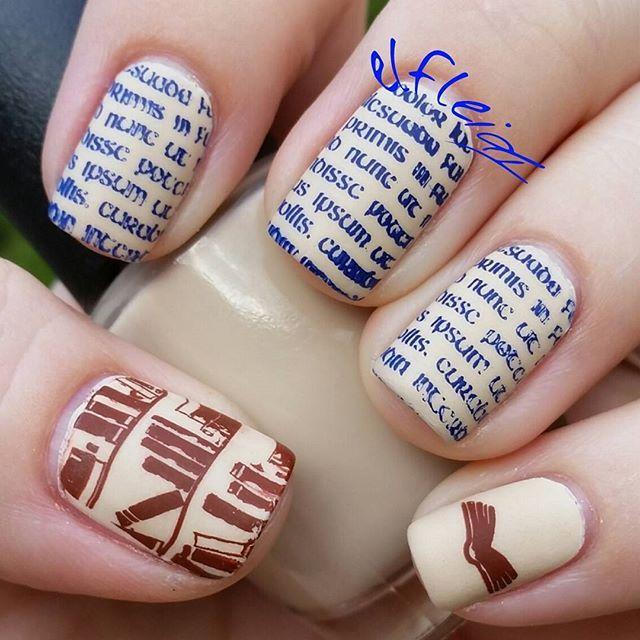 Image Plate MM24   Pretty nail art, Nail stamping plates and ...