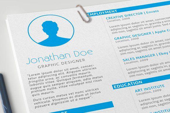 Resume, Cover Letter  Portfolio by Imagine Design on