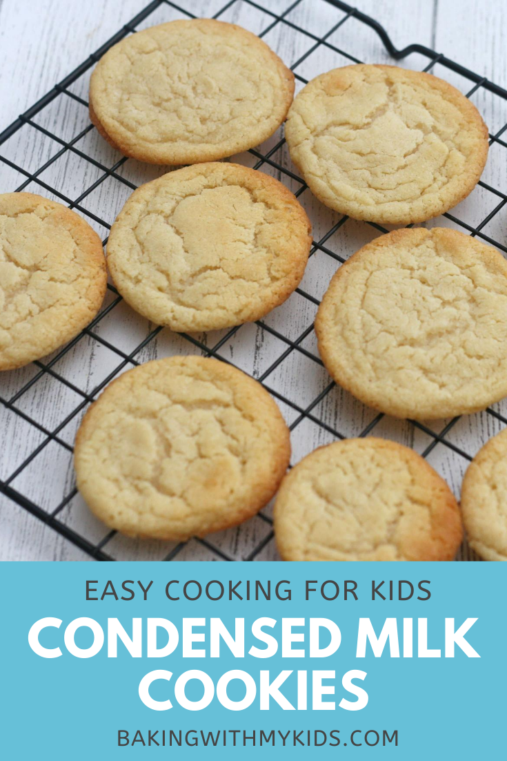 Condensed Milk Cookies In 2020 Cookie Recipes Condensed Milk Condensed Milk Recipes Condensed Milk Desserts