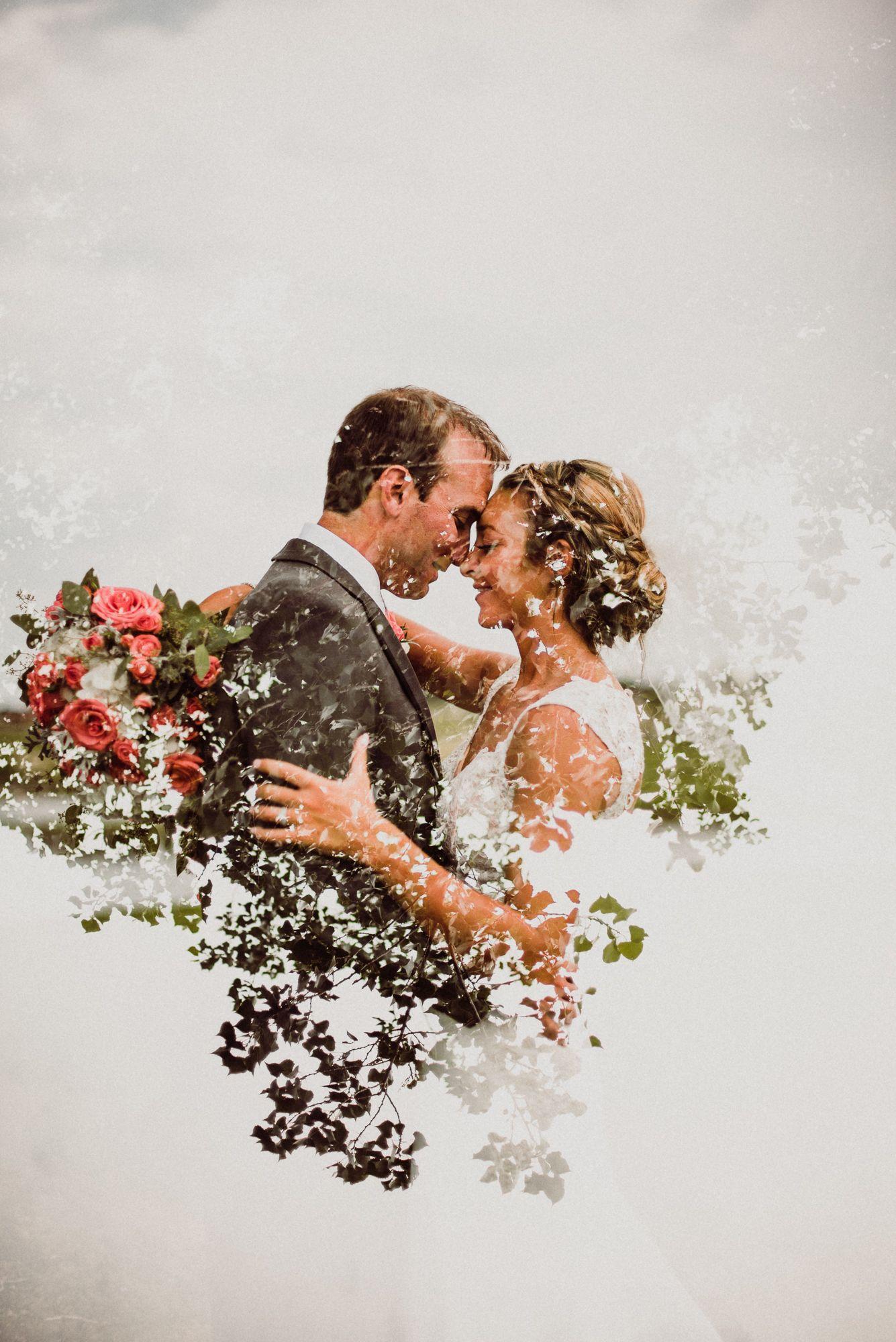 Nicole & JT Wedding doubleexposure multipleexposure