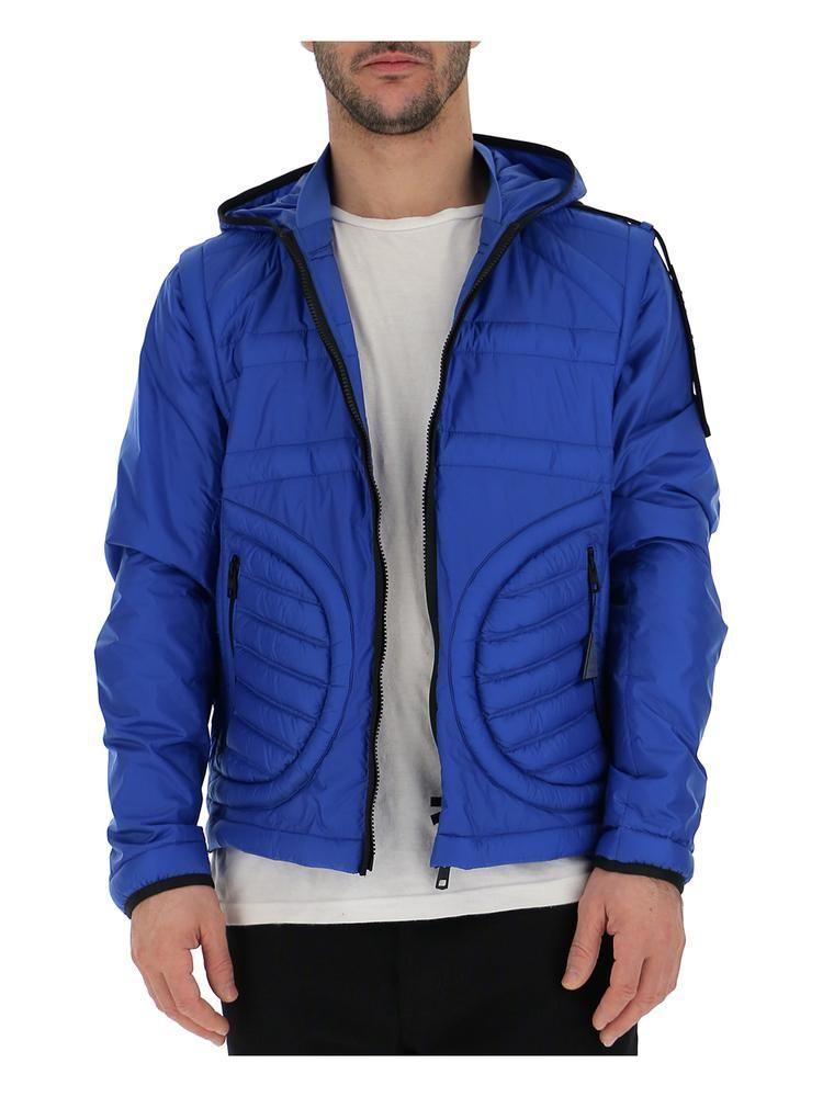 Moncler Genius Moncler X Craig Green Padded Hooded Jacket In 736 Blue Modesens Hooded Jacket Jackets Lightweight Jacket