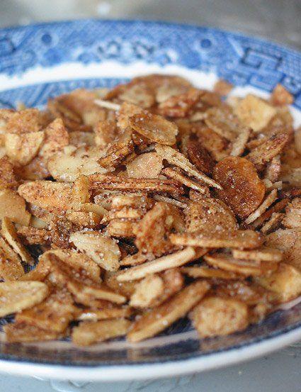 Sweet and Salty Cinnamon Almonds