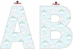 Resultado de imagen para moldes de letras grandes para carteles