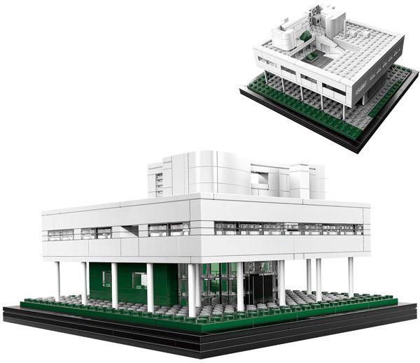 lego architecture villa savoye review. Black Bedroom Furniture Sets. Home Design Ideas