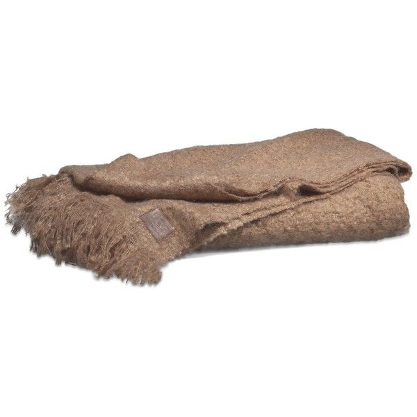 "Ugg Throw Blanket Delectable Ugg Australia Luxe Mohair Throw  50"""" X 70"""" $58 ❤ Liked On Inspiration Design"