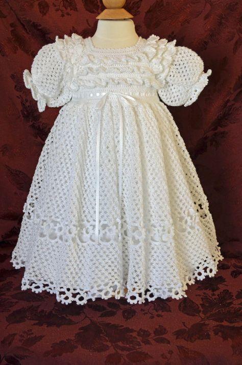 Vestido blanco con abanicos en | vestiditos | Pinterest | Vestidos ...