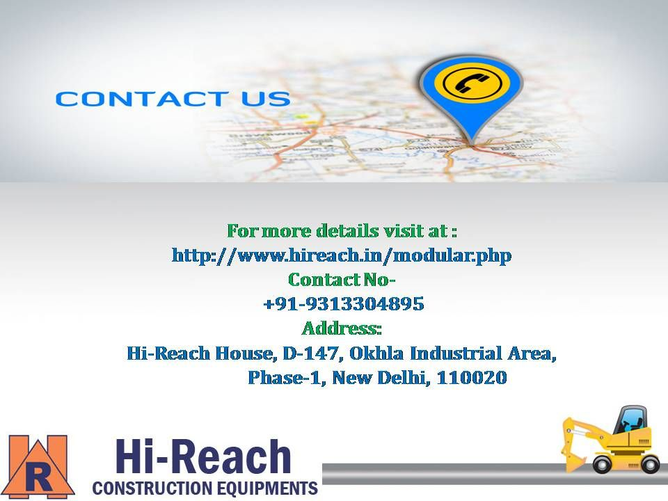 Hi Reach manufactures the best aluminum shuttering with