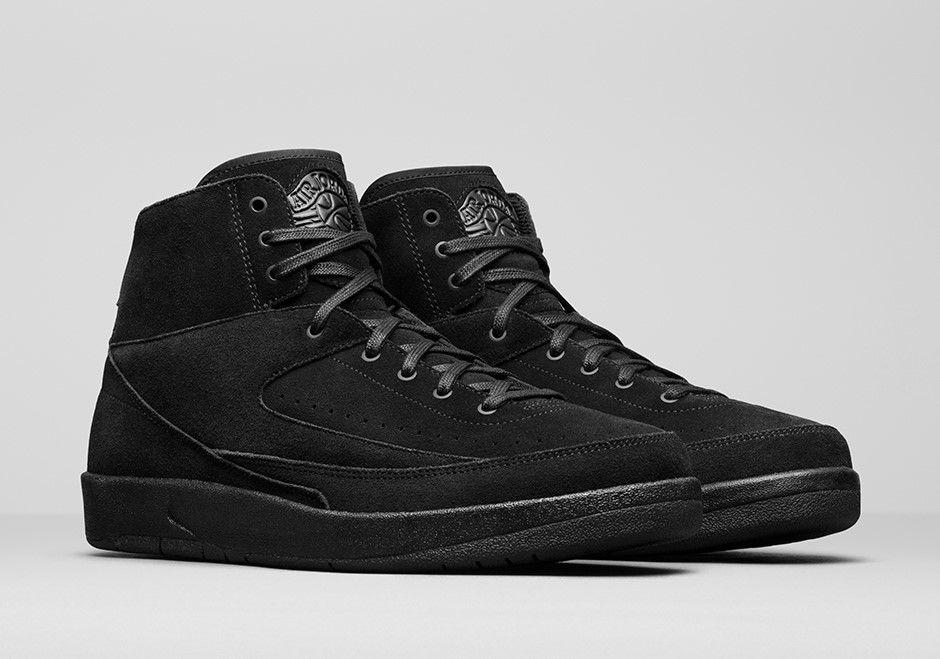 sports shoes 0dd3b 8d41f Air Jordan 2 Decon Triple Black | Jordan Shoes | Nike air ...