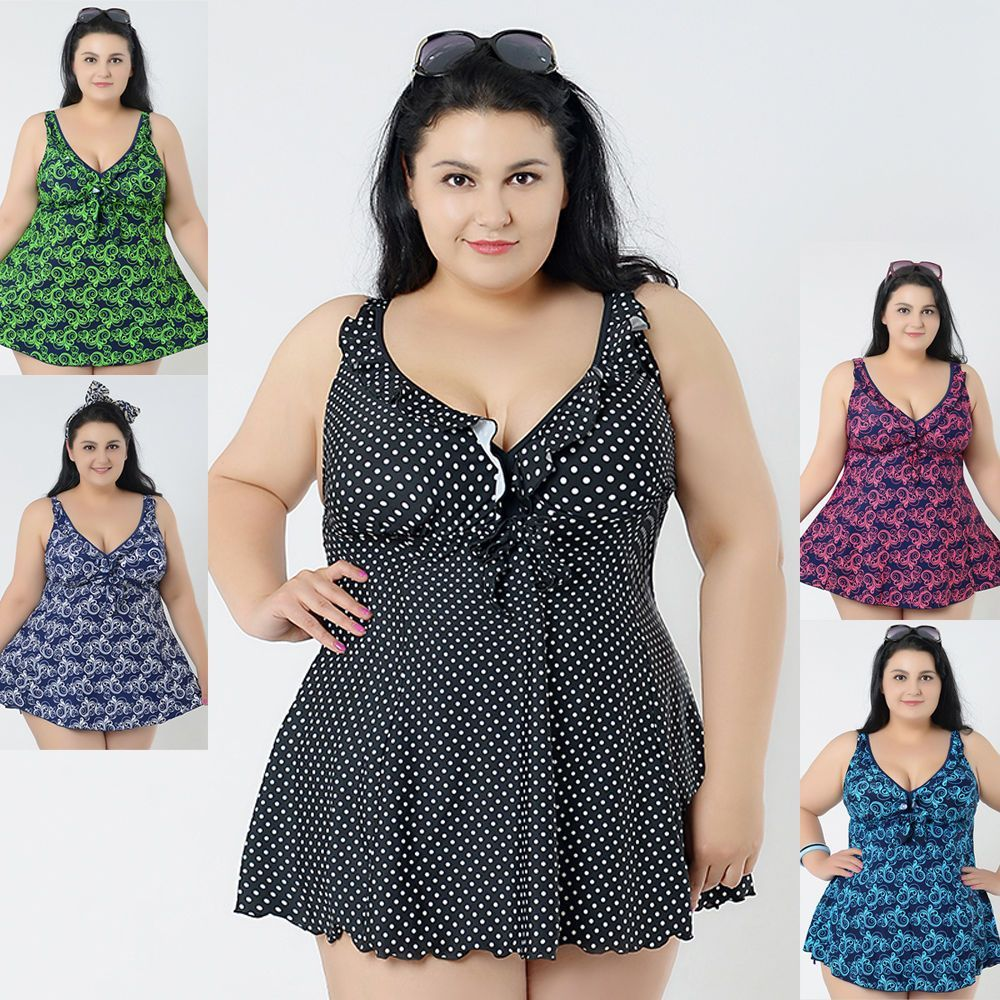 97037bc4c125a Womens Swimwear Two Piece Swimsuit Beach Dress US Size 18 20 22 24 26 28   0515
