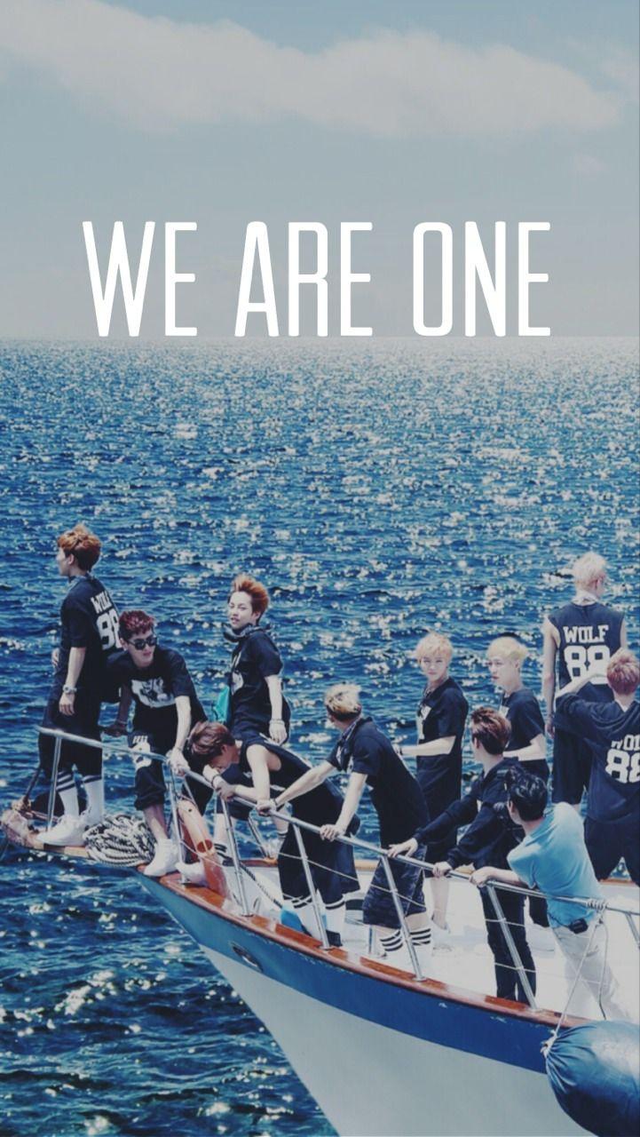 Exo iphone wallpaper tumblr - Exo Xoxo We Are One Hd Wallpaper