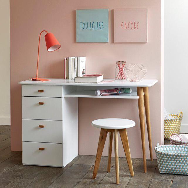 bureau 4 tiroirs jimi la redoute interieurs la redoute et tiroir. Black Bedroom Furniture Sets. Home Design Ideas