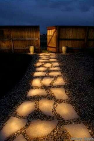 Glow in the dark walk way- Love this idea will def be doing this! Will be time consuming tho!