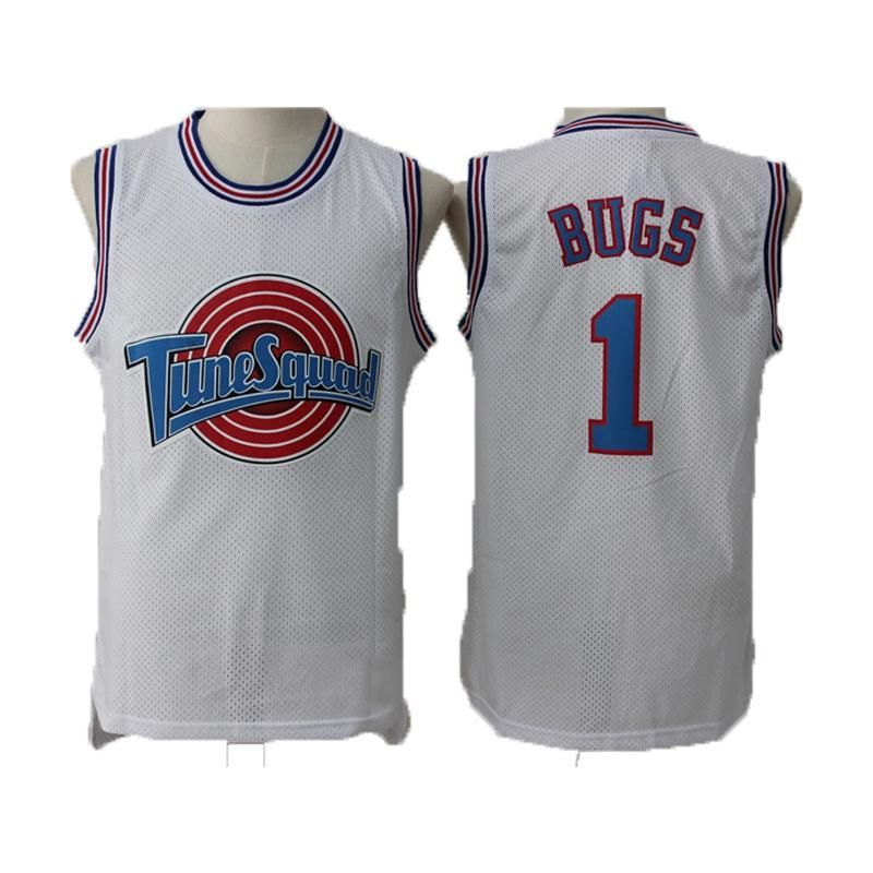 7688324095c7 JORDAN Basketball Jersey 23  BUGS 1 DUCK 2 LOLA 10 MURRAY 22 TAZ Space Jam  TuneSquad Basketball Jerseys Men Sleeveless Shirt