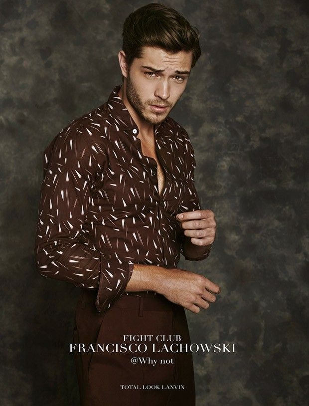 "Francisco Lachowski in ""Movie Star"" by Fabrizio Scarpa for GQ Italia December 2015 Issue"