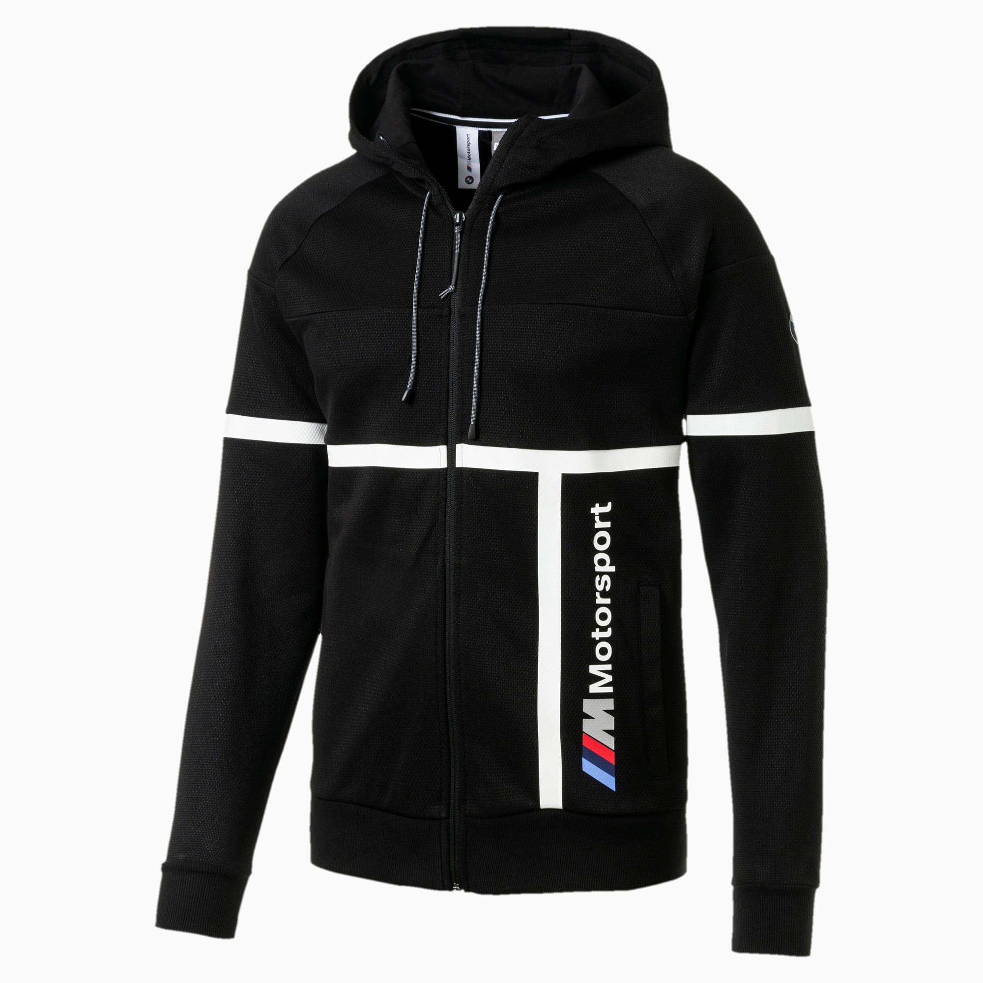 Bmw M Motorsport Hooded Men S Sweat Jacket Puma Black Puma Motorsport Puma Germany Jackets Mens Outfits Outerwear Jackets [ 2000 x 2000 Pixel ]