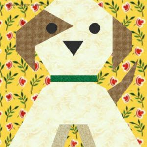 Puppy Dog Quilt Block Pattern Quilt Blocs And Patterns Quilt