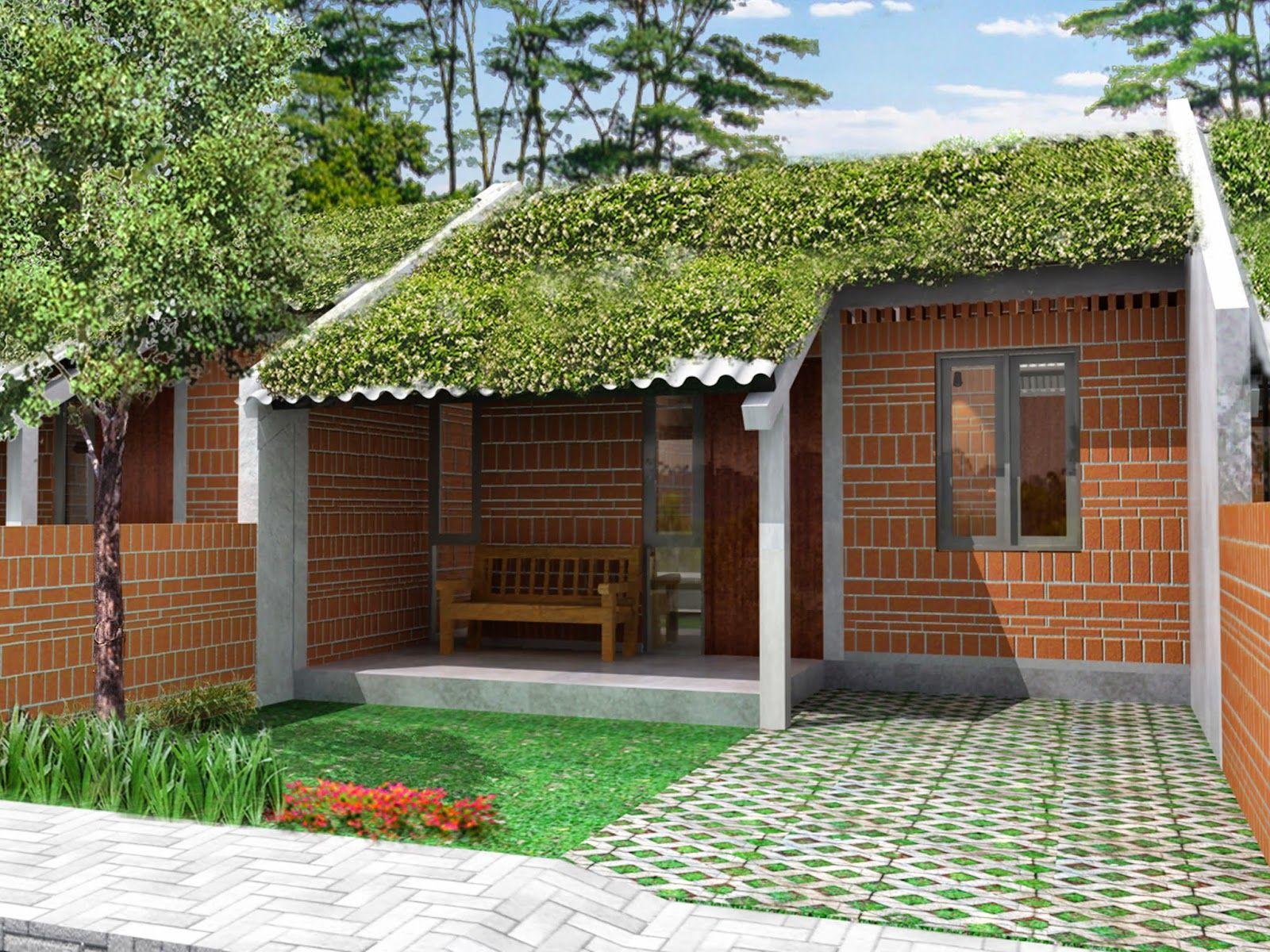 Gambar Desain Rumah Bambu Minimalis Cek Bahan Bangunan