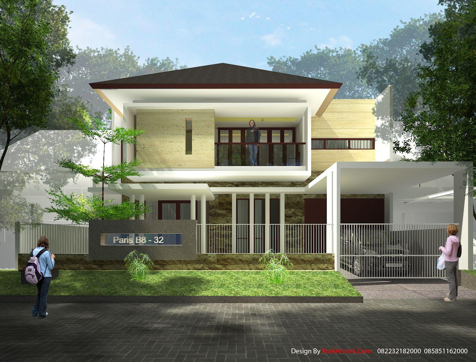rumah tropis modern rumah tropis modern