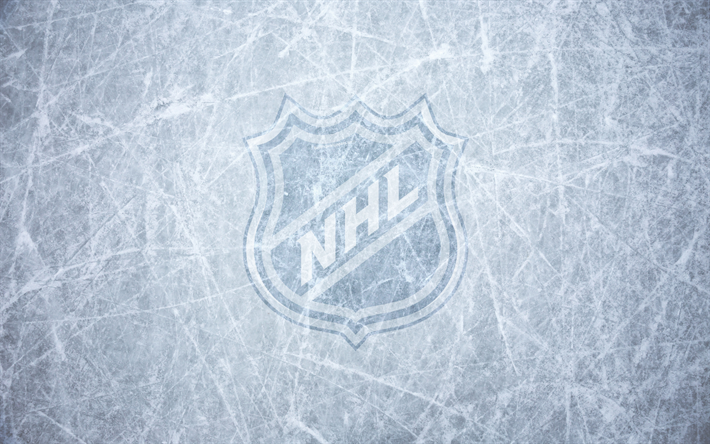 Download wallpapers NHL, National Hockey League, logo