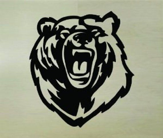 BEAR//EAGLE CLAW GOOD HUNTING NATIVE AMERICAN DECAL WHITE OR ETCHED GLASS VINYL