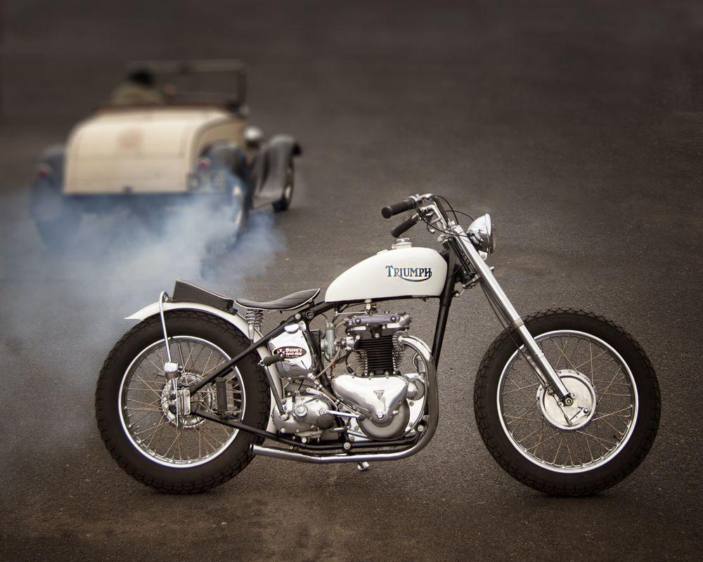 af78d8b34 ϟ Hell Kustom ϟ: Triumph By Baron Speed shop | TRIUMPH PICS | Cafe ...