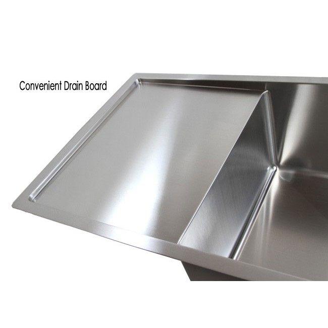 42 Inch Stainless Steel Undermount Double Bowl Kitchen Sink 15mm Radius Design 16 Gauge Double Bowl Kitchen Sink Sink Kitchen Sink