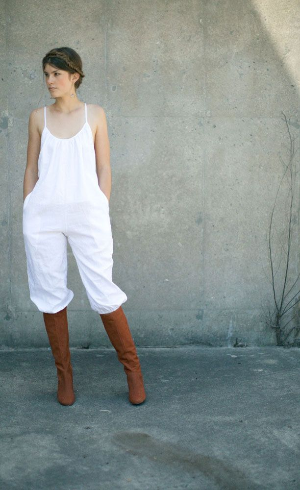 705d1b7188fd Rachel Antonoff Ivory Coco Jumpsuit