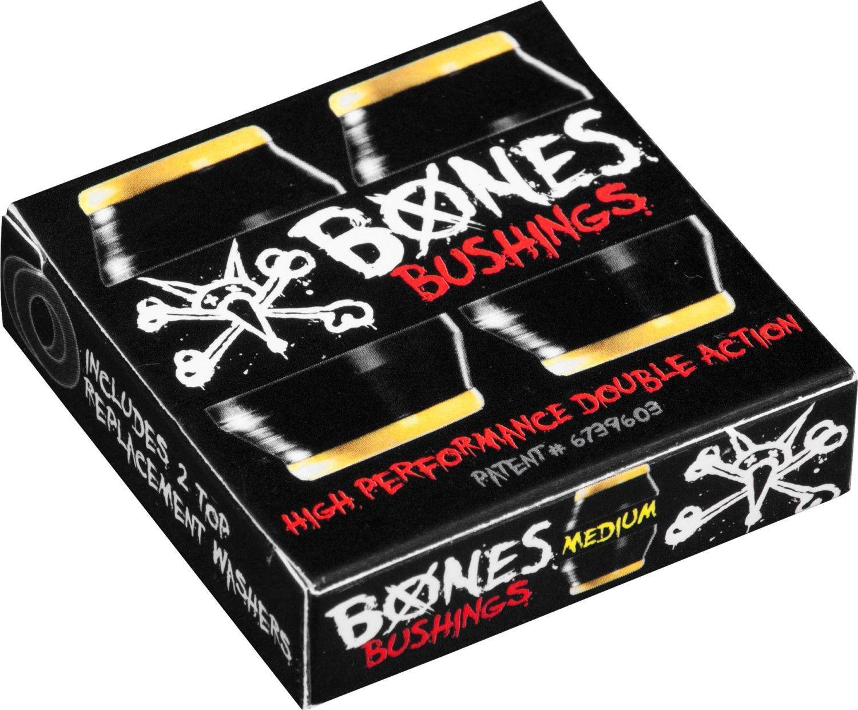 BONES WHEELS - Bushing Medium Black Pack   Skateboard ...