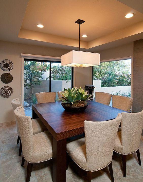 Como decorar Comedores Modernos | DECORACION | Dining room, Home ...