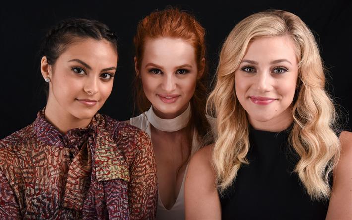 Lataa kuva Riverdale, TV-Sarja, 2017, Shaniqua Petsch, Veronica Lodge, Camilla Mendes, Betty Cooper, Lili Reinhart, Cheryl Blossom