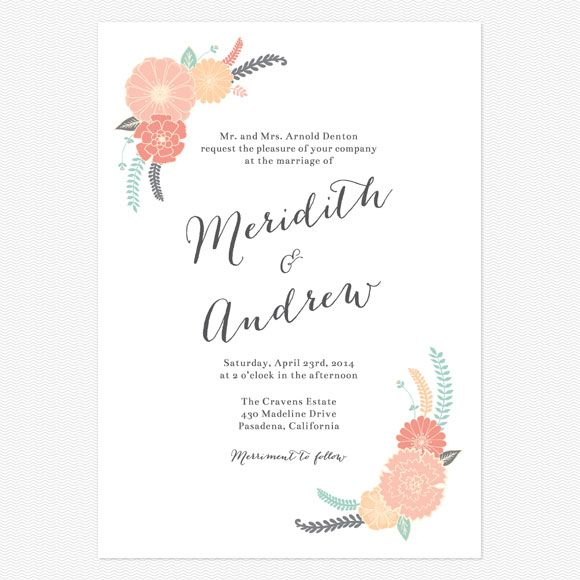 Wedding Reception Invitation Wording Funny: Wedding Invitation Wording That Won't Make You Barf