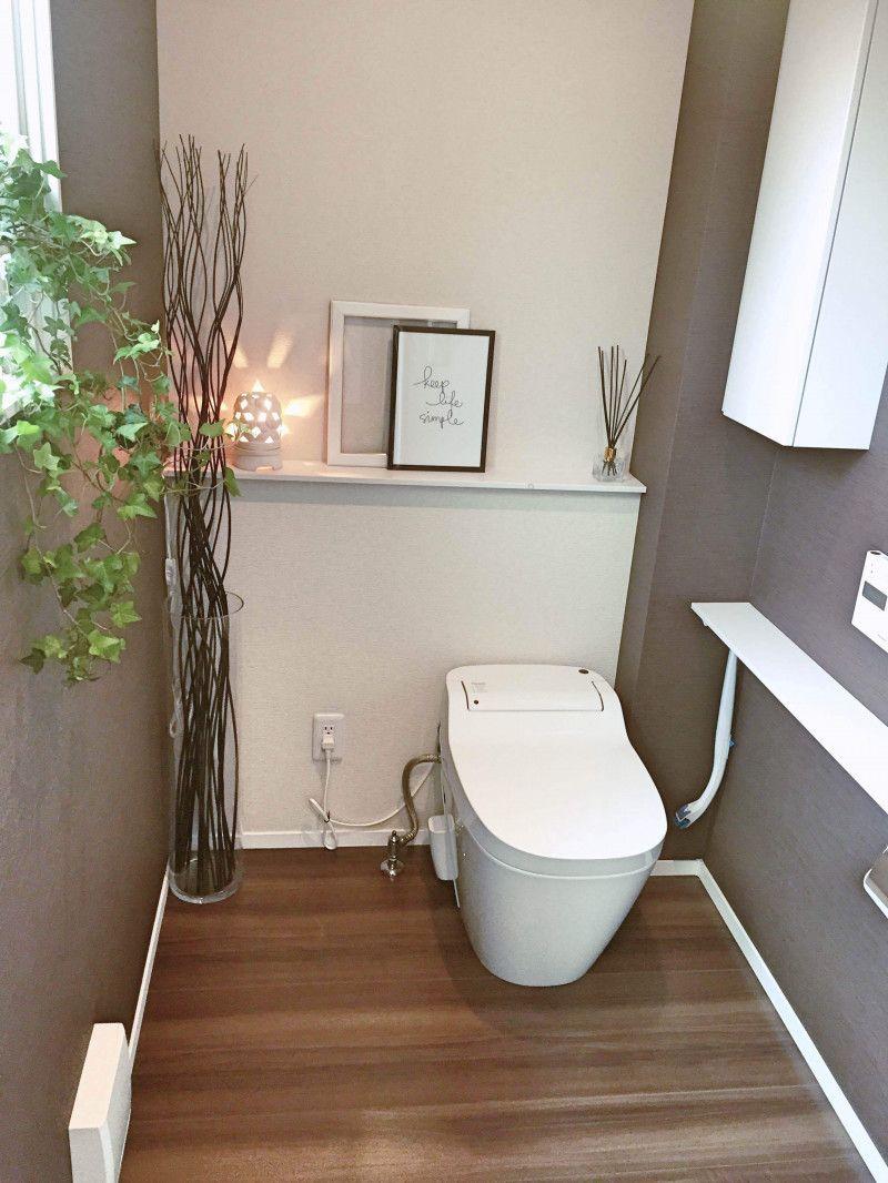 壁紙 アクセントクロスの成功と失敗 トイレ 壁紙 おしゃれ トイレ レイアウト トイレ おしゃれ