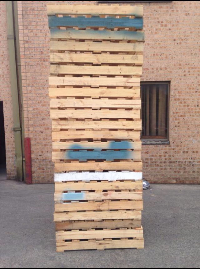 Pallets are mainly used for storing and transporting ...