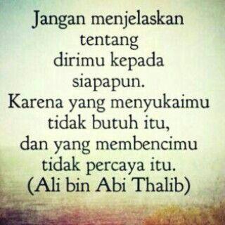 Diam Lebih Baik Islamic Quotes Motivasi Bijak