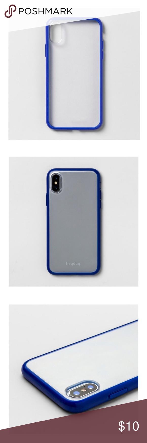 New Apple Iphone X Clear Case W Bumper Frame Phone Case Accessories Clear Cases Apple Iphone