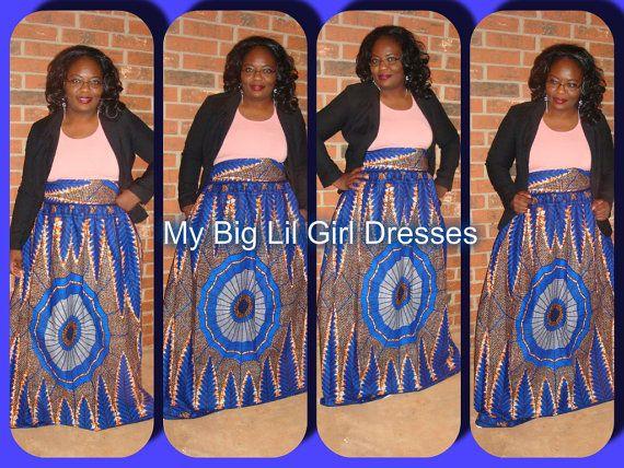 e0ec42205b98cb African print Ankara The Sophia maxi by MyBigLilGirlDresses