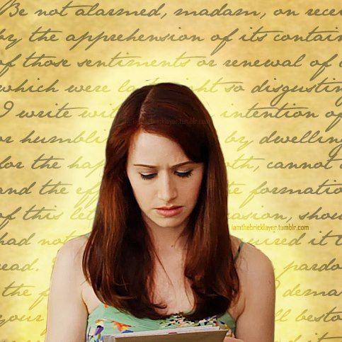 Darcy S Letter Lizzie Bennet Diaries