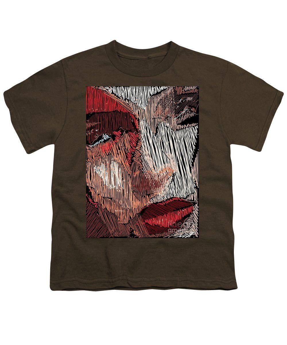 Youth T-Shirt - Studio Portrait In Pencil 42