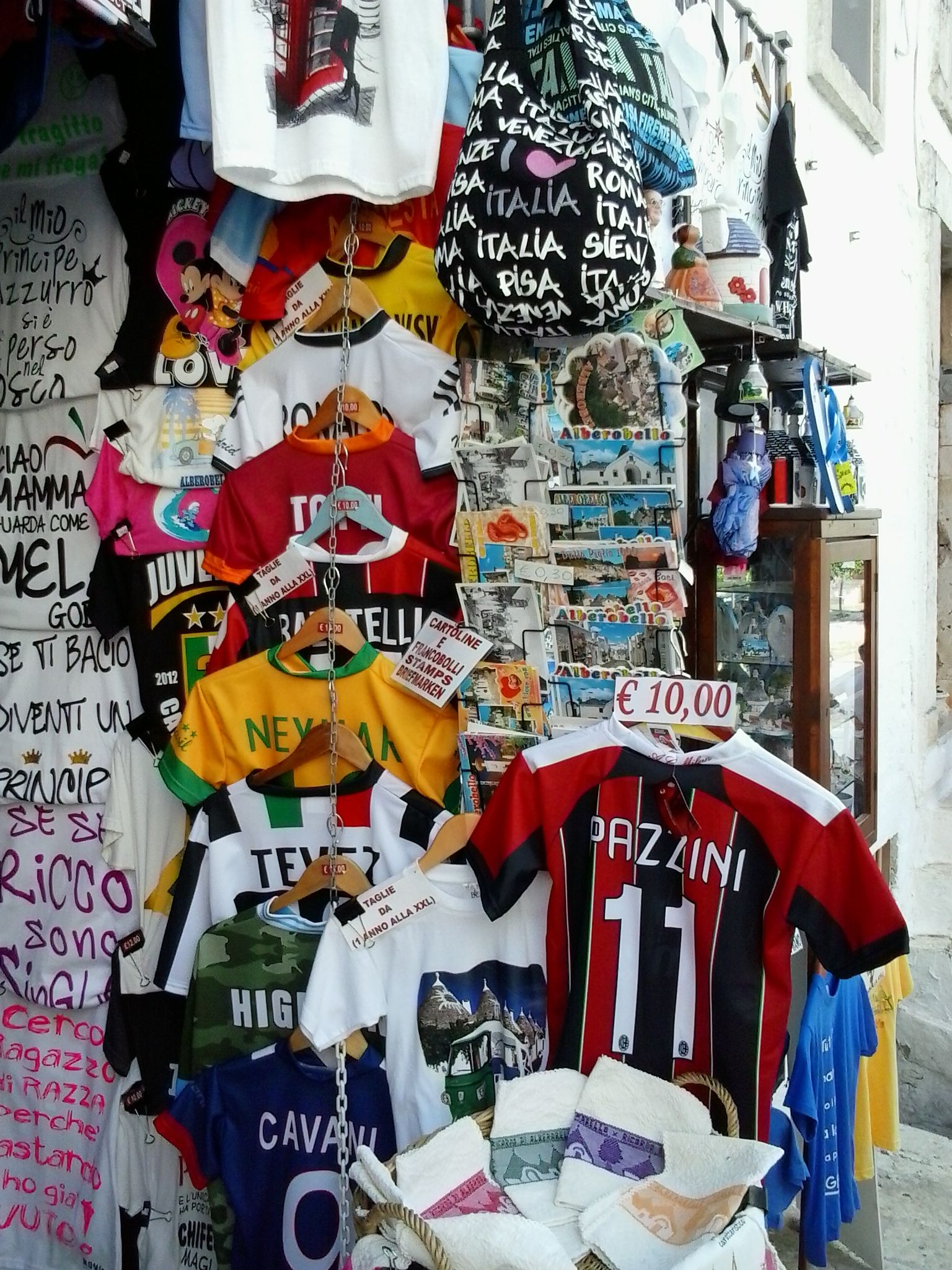 Alberobello, Bari - Shopping