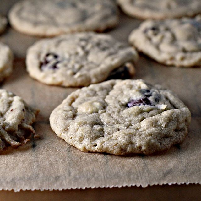 White and Dark Chocolate Coconut Macadamia Cookies  IMG_0864 by eatswellwithothers, via Flickr