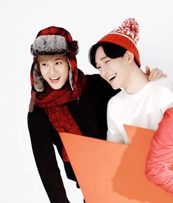 Chen e Suho EXO