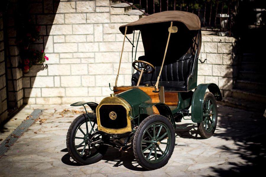C1909 Le Zebre Type A Chassis N 470 Carte Grise Francaise Parmi