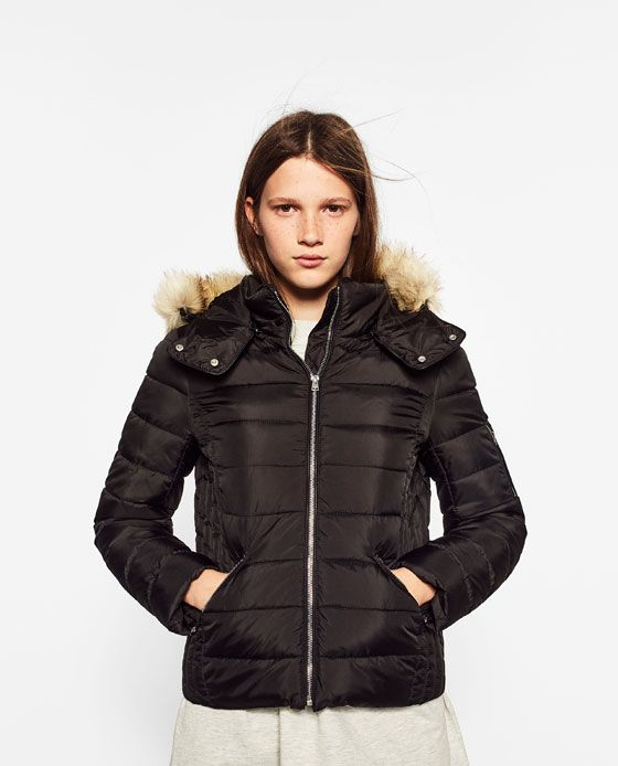53c9e730 Image 3 of WATER REPELLENT PUFFER COAT from Zara | Style | Winter ...