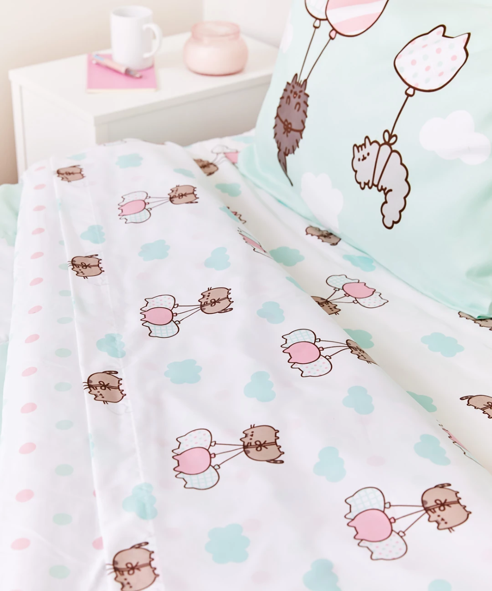 Pusheen Full/Queen Sheet Set Sheet sets queen, Sheet