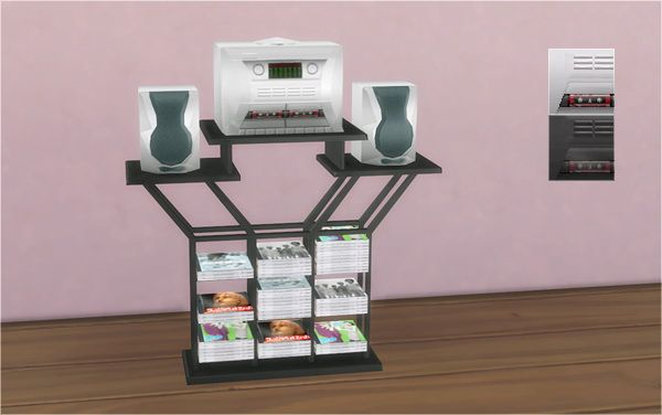 Fun-Kadelic Frequency Stereo System 2t4 at Veranka via Sims 4 Updates