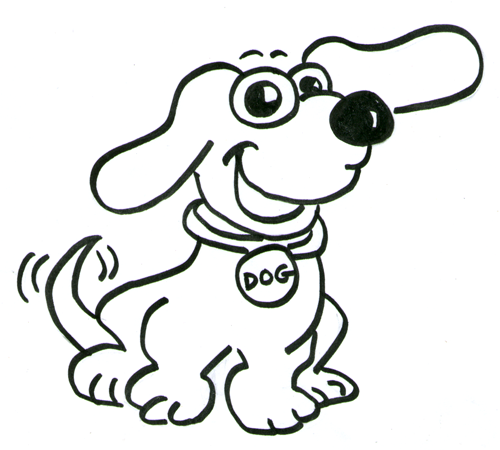 how to draw cartoon dogs step by step drawing tutorial for kids - Cartoon Drawings For Kids